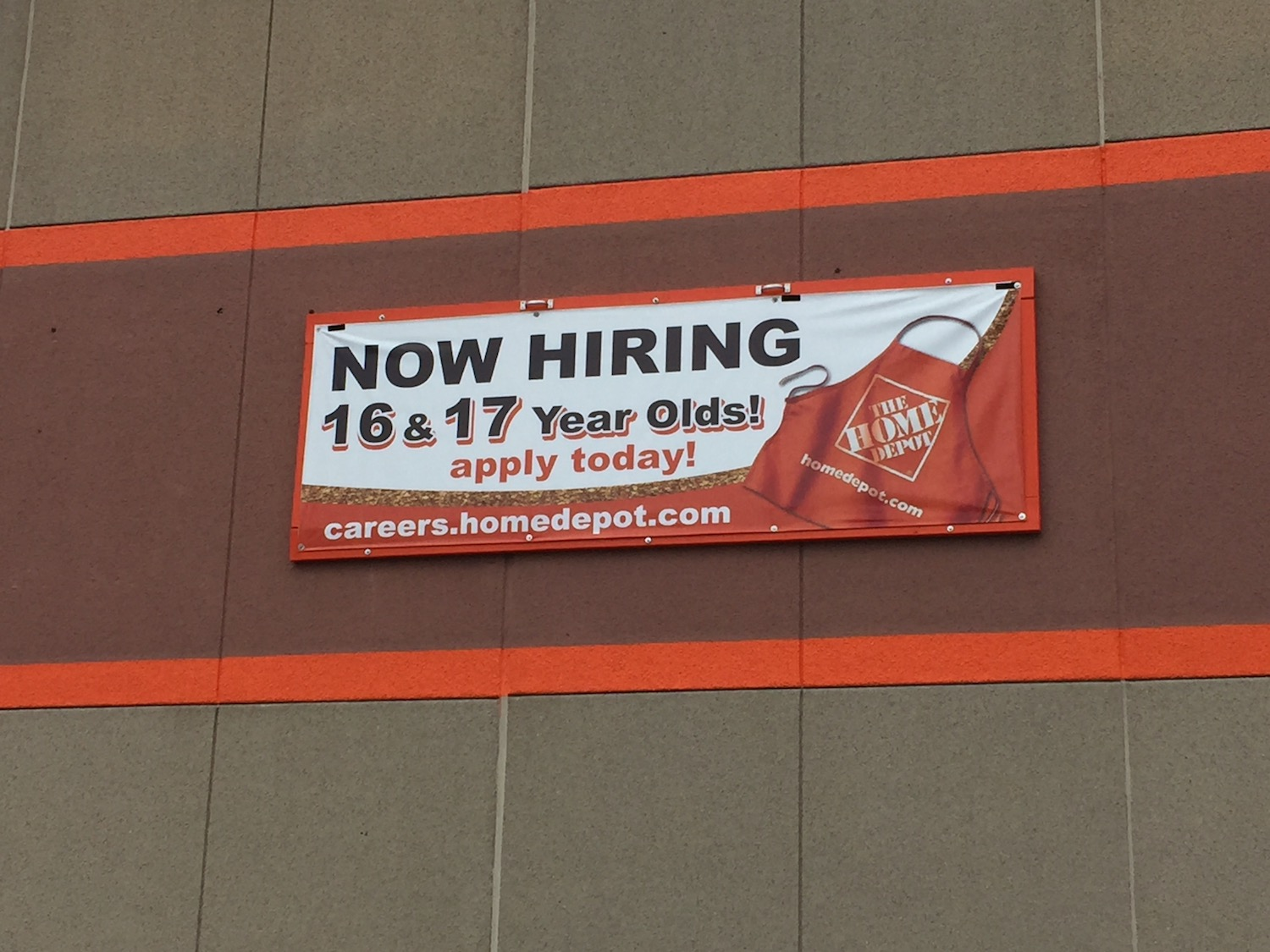 What Jobs At Home Depot Can  Year Olds Get